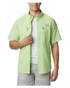 Columbia Sportswear Men's Terminal Tackle PFG T-Shirt Jade Lime