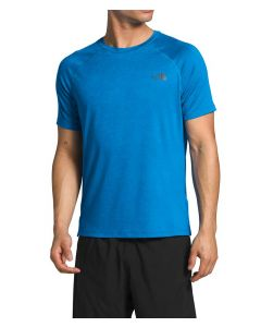 The North Face Men's Hyperlayer FD T-Shirt Clear Lake Blue Heather