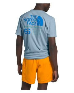 The North Face Men's 66 California T-Shirt Faded Blue