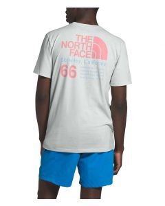 The North Face Men's 66 California T-Shirt Tin Grey