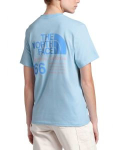 The North Face Women's 66 California T-Shirt Angel Falls Blue