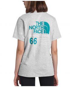The North Face Women's 66 California T-Shirt TNF Light Grey Heather