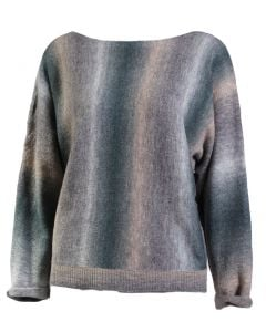 Angie Women's Batwing Pullover Turquoise