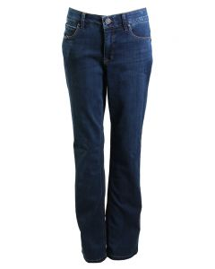 One 5 One Women's Flare Denim Jean Dark Stone Wash