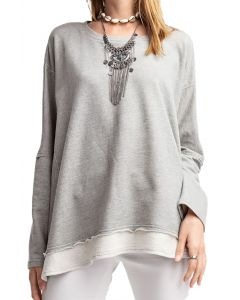 Easel Women's Comfy tunic Heather Grey