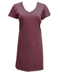 Stillwater Supply Co. Women's T-Shirt Dress Mauve