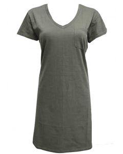 Stillwater Supply Co. Women's T-Shirt Dress Olive