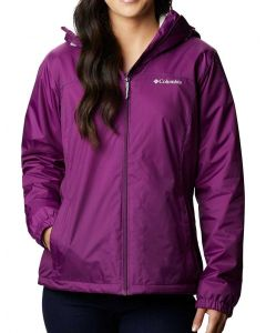 Columbia Sportswear Woman's Switchback Sherpa Lined Plum