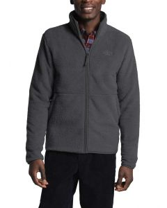 The North Face Men's Dunraven Sherpa Full Zip Asphalt Grey