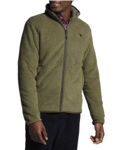 The North Face Men's Dunraven Sherpa Full Zip New Taupe Green