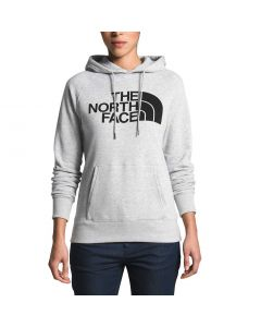 The North Face Women's Half Dome Pullover Hoodie Light Grey Heather