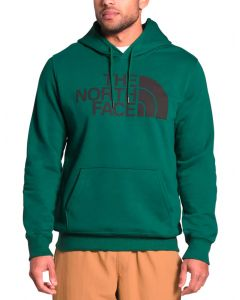 The North Face Men's Half Dome Pullover Hoodie Evergreen TNF Black