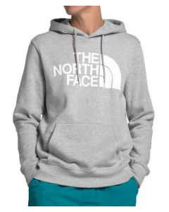 The North Face Men's Half Dome Pullover Hoodie Light Grey