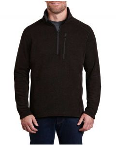Kuhl Men's Interceptr 1/4 Zip Charcoal