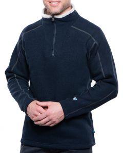 Kuhl Men's Europa 1/2 Zip Sweater Mutiny Blue