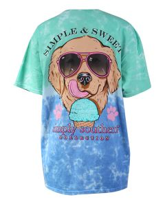 Simply Southern Women's Simple Island T-Shirt Multi