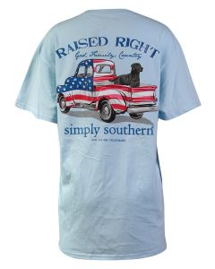 Simply Southern Women's Guys Truck T-Shirt Ice