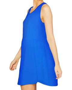 MittoShop Women's Tank Dress Royal