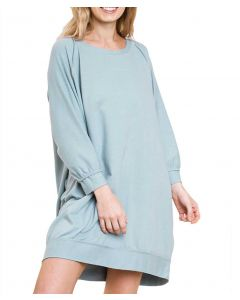 Umgee USA Women's Summer Tunic Misty Blue