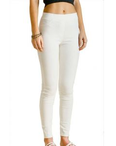 Umgee USA Women's Leggings Plus Cream