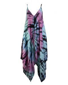 Angie Women's Tie Dye Jumpsuit Multi