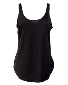 Angie Women's Scoop Neck Tank Black