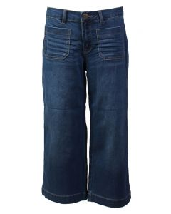 One 5 One Women's Crop Wideleg Denim