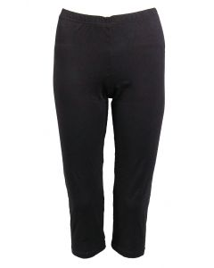 Deloache Women's Capri Leggings Black
