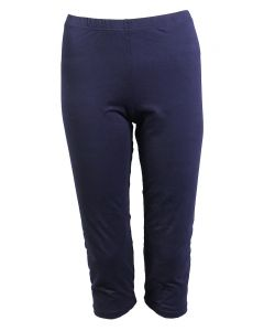 Deloache Women's Capri Leggings Navy