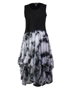 Cute Options Women's Tank Dress Black White