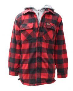 Pacific Teaze Men's Fleece Jacket Tall Black