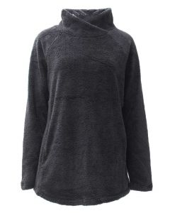 Pacific Teaze Women's Stretch Pullover Black
