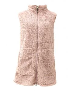 Pacific Teaze Ladies Long Vest Mauve