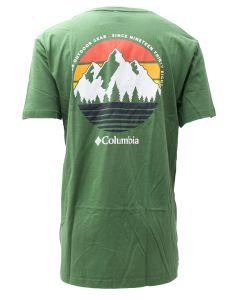 Columbia Sportswear Men's Setyn Short Sleeve T-Shirt Dark Back Country