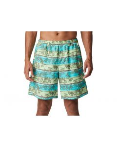 Columbia Sportswear Men's Super Backcast Water Short 6 Lime Glow Ombre