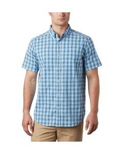 Columbia Sportswear Men's Rapid Rivers II Short Sleeve Azure Blue Mini