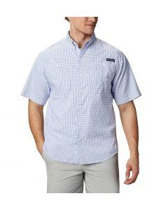 Columbia Sportswear Men's Super Tamiami SS Shirt Vivid Blue