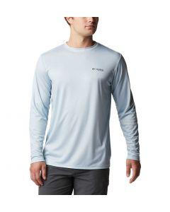 Columbia Sportswear Men's TT PFG State Fish Flag Cool Grey