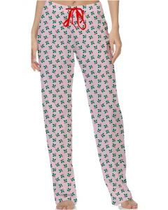 Sweet Escape Women's Christmas Lounge Pants Holly Berry