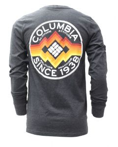 Columbia Sportswear Men's Long Sleeve Reflect Tee Grey Heather