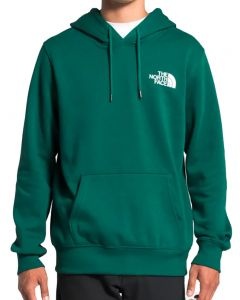 The North Face Men's Box NSE Pullover Ever Green