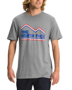 The North Face Men's New USA T-Shirt Medium Grey