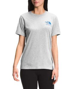 The North Face Women's New USA T-Shirt Light Grey