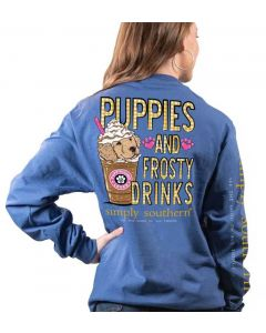 Simply Southern Women's Frosty T-Shirt Moonrise