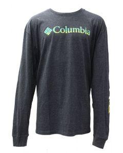 Columbia Sportswear Men's Long Sleeve Quake Charcoal Heather
