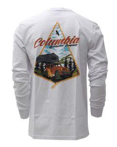 Columbia Sportswear Men's Long Sleeve Zone White