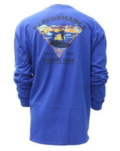 Columbia Sportswear Men's Long Sleeve Cast Vivid Blue