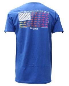 Columbia Sportswear Dimpus T-Shirt Vivid Blue
