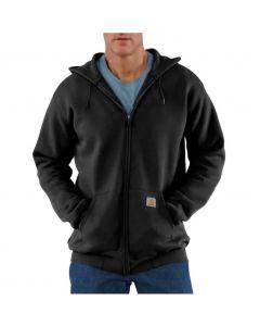 Carhartt Men's Zip-Front Hoodie Black