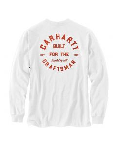 Carhartt Pocket Craftsman Graphic T-Shirt White